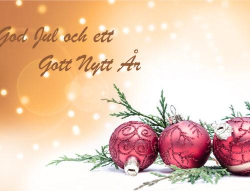 Profcon AB önskar God Jul & Gott Nytt År!