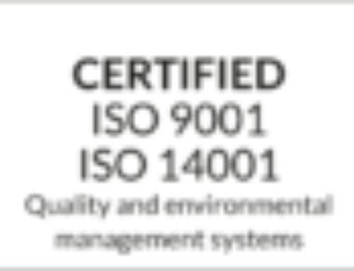 Profcon AB ISO certified.